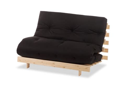 wood futon chair metro one seater wooden futon sofa bed