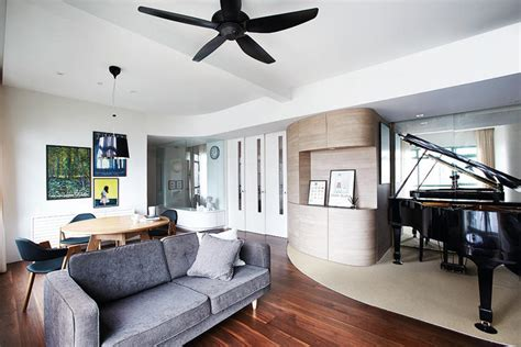 Small Studio Apartment Design house tour how to use curves in a contemporary home