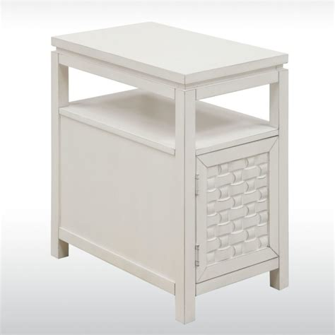 white bedroom end tables furniture small white wood wedge end table with storage