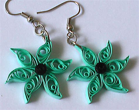 Earring With Paper - amazing quilling jewelry on quilling jewelry