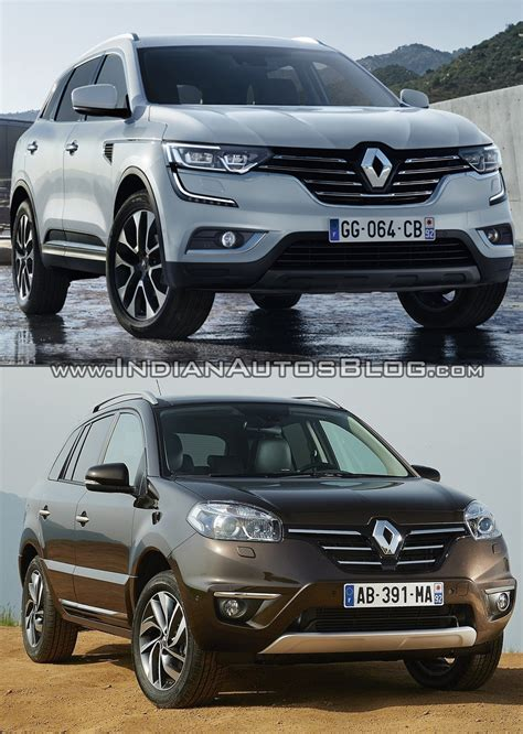 renault koleos 2016 2016 renault koleos vs old renault koleos old vs new