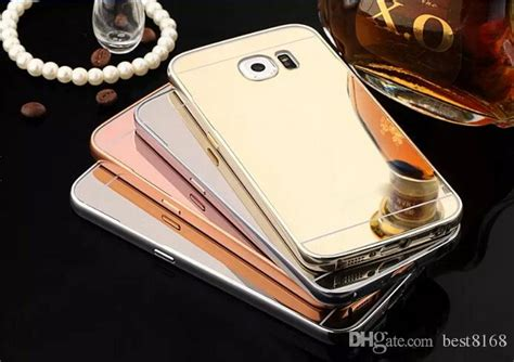 Samsung Galaxy V G313 Ace 4 Bumper Mirror Metal Cover H Limited mirror bling aluminum bumper for galaxy s6 edge plus note 2 3 4 5 j1 ace j2 j3 s4 s5 s3