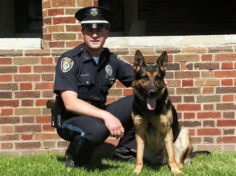 K9 Officer by Cops And Officers Came From All The State To Say Bye To