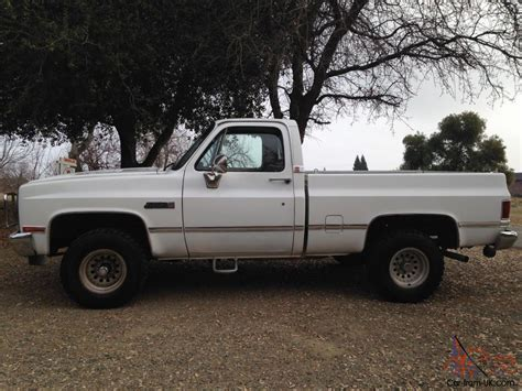 chevy short bed for sale 1986 chevy short bed 4x4 rust free