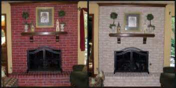paint brick fireplace before after fireplace decorating complete brick fireplace makeover