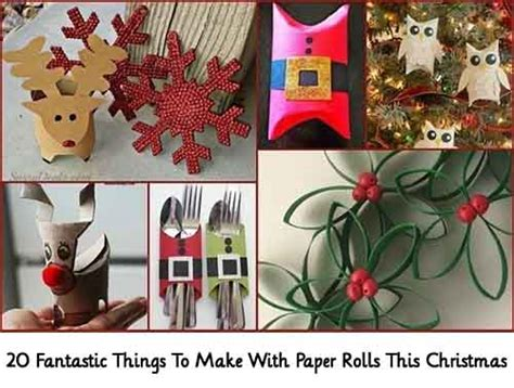Using Paper To Make Things - 20 fantastic things to make with paper rolls this