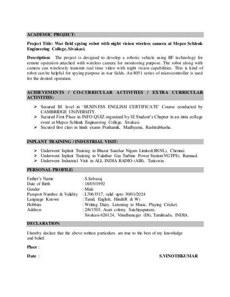 Programmable Logic Controller Sle Resume by Resume For Applying Plc Engineer