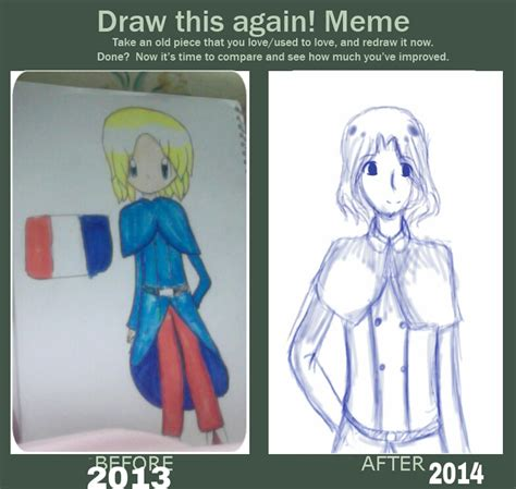 Draw This Again Meme Blank - draw this again meme by cupcakeoujo on deviantart