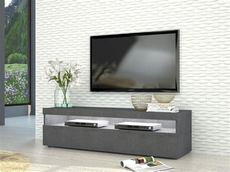 Grey Tv Cabinet by Burrata Modern Tv Cabinet In Grey Report Finish Two Sizes