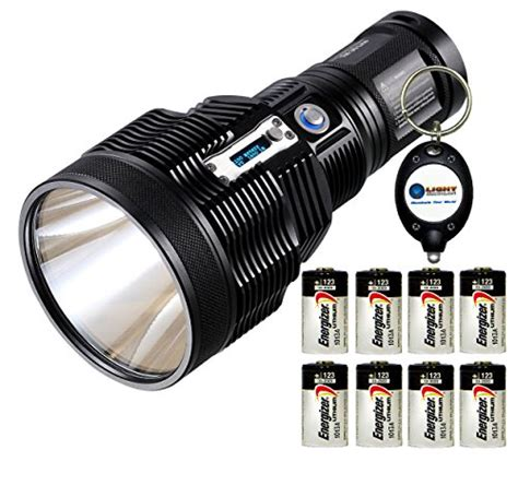 Lu Led Energizer nitecore tm36 lite luminus sbt 70 led rechargeable flashlight 1800 lumens w 8x energizer cr123a