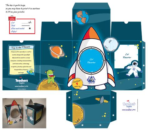 templates for toy boxes mission paper toy avec stars finder paper toy fr
