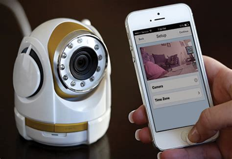 smartphone security camera @ sharper image
