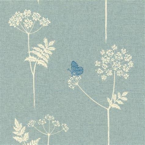 duck egg blue curtain fabric uk cow parsley duck egg cornflower vanessa arbuthnott
