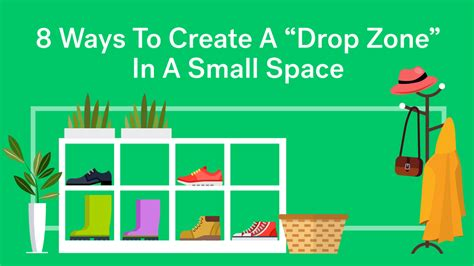8 Ways To Per Your by Get Organized Create A Drop Zone For Your Small Space