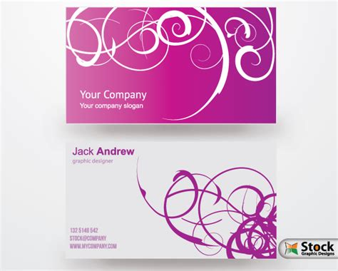 Free Business Card Vector Templates Vector Photoshop Brushes Stock Graphic Designs Card Design Templates Free
