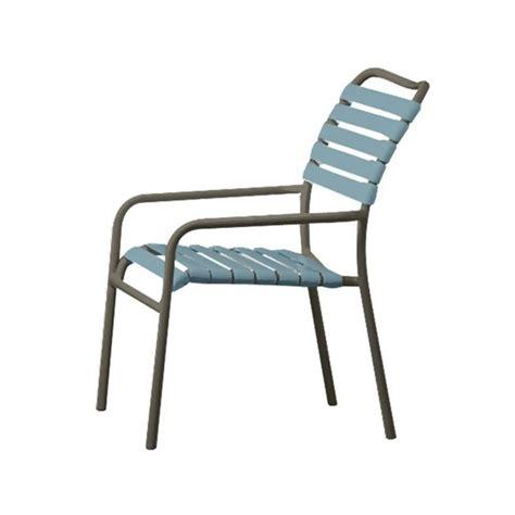 Aluminum Dining Chair Kahana Vinyl Dining Chair With Aluminum Frame Furniture Leisure