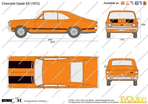Draw Blueprints Online the blueprints com vector drawing chevrolet opala ss