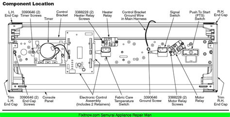 whirlpool duet front panel wiring diagram get free image