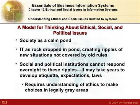 information security and ethics social and organizational issues books ethical and social issues in information systems