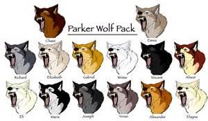 Parker wolf pack by winter falls on deviantart
