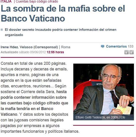 banco ambrosiano veneto el papa francisco vs otro banco ambrosiano info taringa