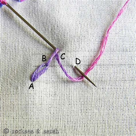 zig zag daisy chain pattern embroidery tutorial 187 sarah s hand embroidery tutorials