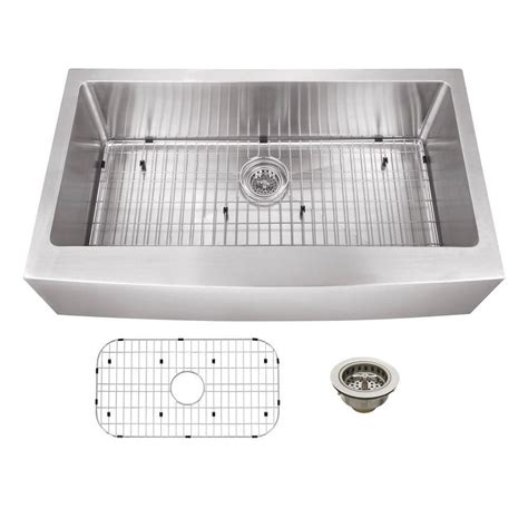 franke stainless apron sink schon all in one apron front undermount stainless steel 36