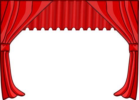 gambar vektor gratis tirai panggung teater