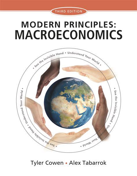 Modern Principles Macroeconomics modern principles macroeconomics 9781429278409