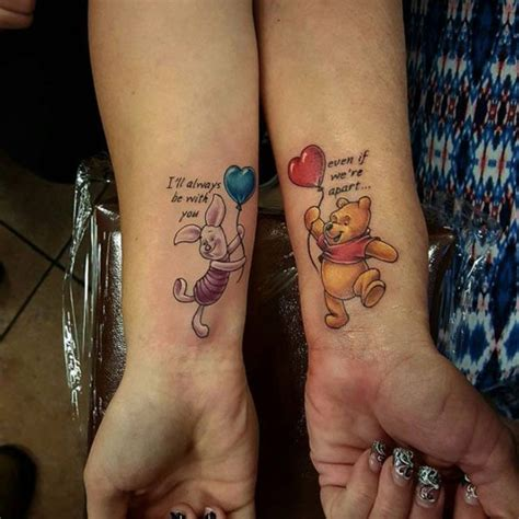 disney sister tattoos 45 beautiful disney tattoos inspired by your favorite