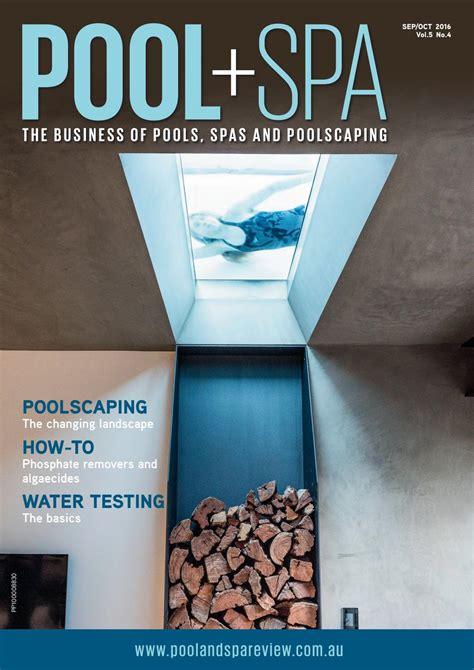 salon media group inc by meghan laslocky oct 11 2005 pool spa sep oct 2016 by westwick farrow media issuu