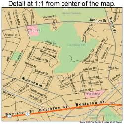 newton map newton massachusetts map 2545560