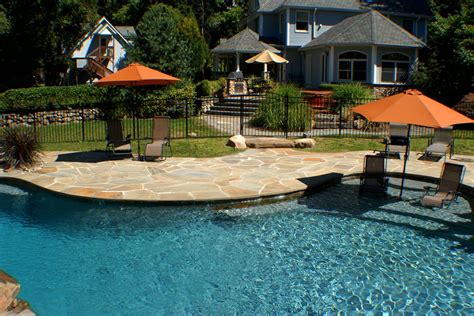 Arapahoe Top Nj Landscaper And Pool Design Contractor Seasonal Pool And Patio