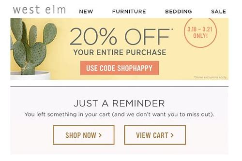 west elm coupon code 10