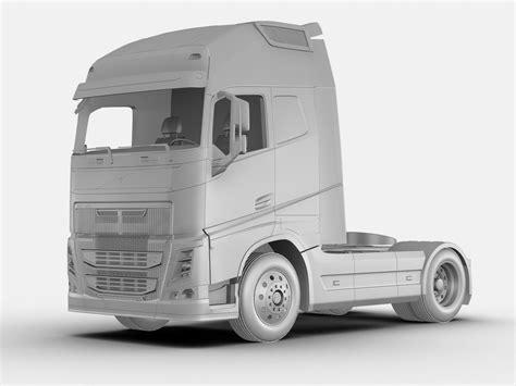 volvo truck models volvo fh 16 2012 3d model max obj 3ds fbx cgtrader com