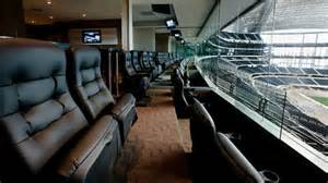 Dallas Cowboys Chairs Nfl Luxury Suites Touring The Most Tricked Out Stadium