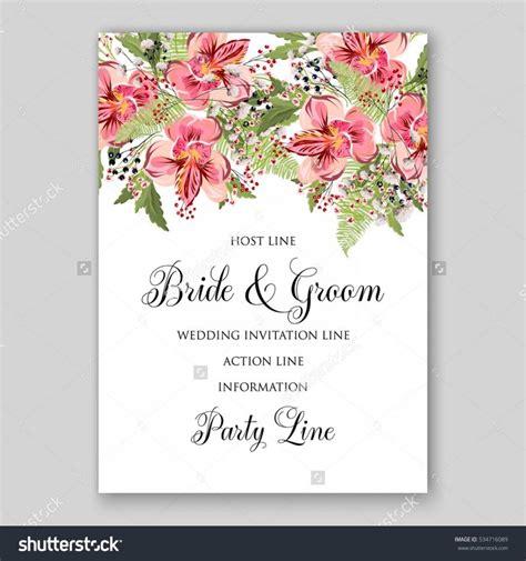 flower wedding invitation vector alstroemeria wedding invitation tropical floral printable template bridal shower bouquet privet