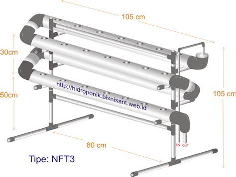 Sambungan Pipa Untuk Hidroponik starter kit nft hemat ruang alat hidroponik