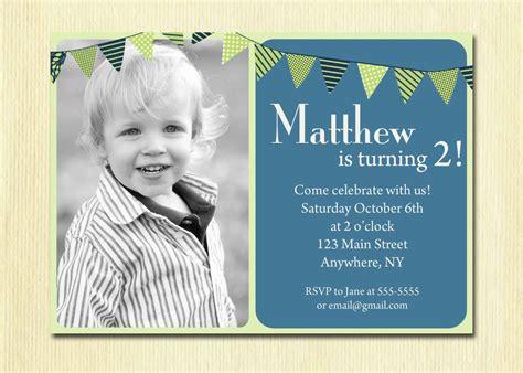 Baby Boy 1st Birthday Invitation Card First Birthday Baby Boy Invitation 1st 2nd 3rd 4th Birthday