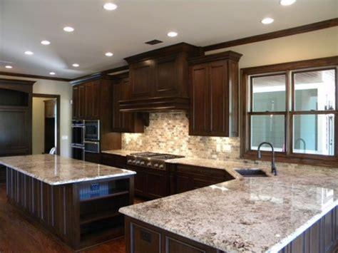 river white granite with dark cabinets kitchens with white cabinets and granite countertops