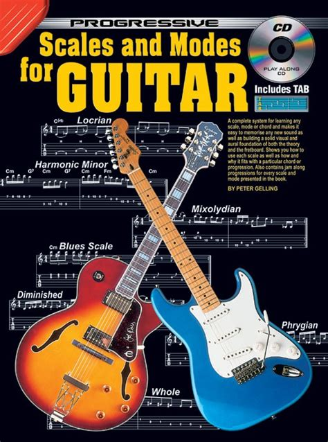 learn guitar yourself progressive scales and modes for guitar
