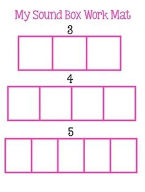elkonin boxes template a phonics elkonin boxes free print