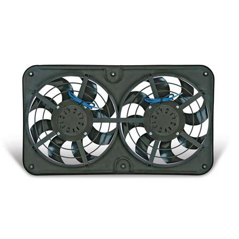 flex a lite adjustable electric fan controllers flex a lite automotive reversible dual 12 1 8 inch x treme