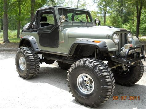 monster jeep cj parting out entire monster jeep cj parts 1 ton axles