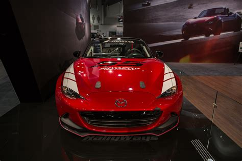 mazda global mazda global mx 5 cup car debuts at sema rallyways