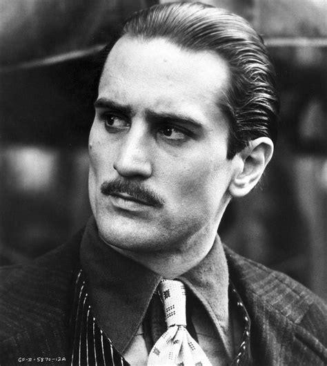 rober de niro robert de niro as don vito corleone in the godfather