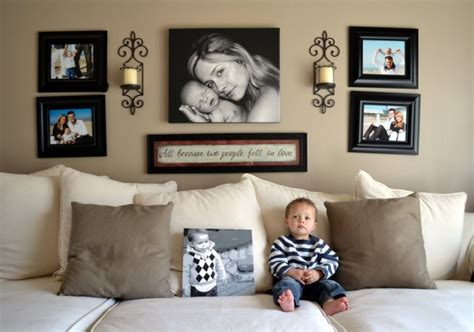 picture hanging ideas for living room of arranging pictures for home interiors