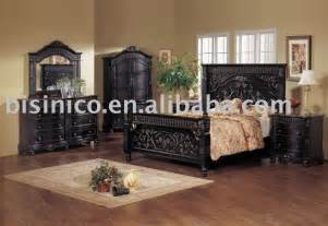 Black King Bedroom Sets Shop Popular Carved Beds From China Aliexpress