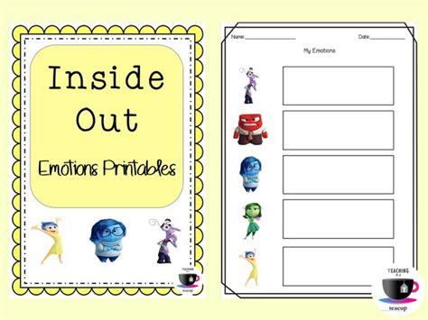 Inside Out Math Worksheet