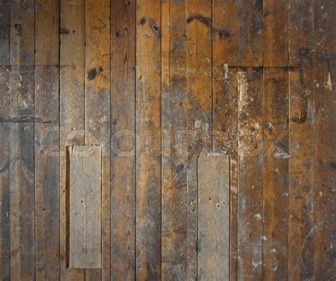 Wall Panel Decor Old Aged Wooden Plank Floor Or Wall Structure Stock